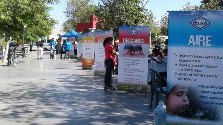 El domingo habrá Expo Salud en la Plaza de los Mástiles. (Imagen Ilustrativa)