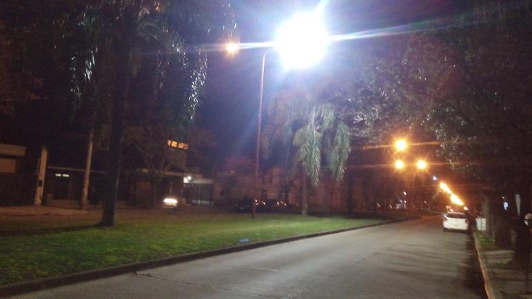 Casilda ya cuenta con luces LED en varios sectores de la ciudad