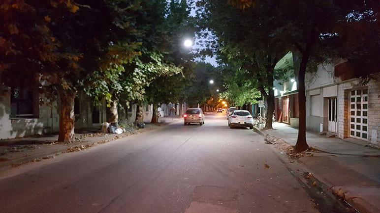 El municipio apuesta a mejorar la iluminación en bulevar Villada.