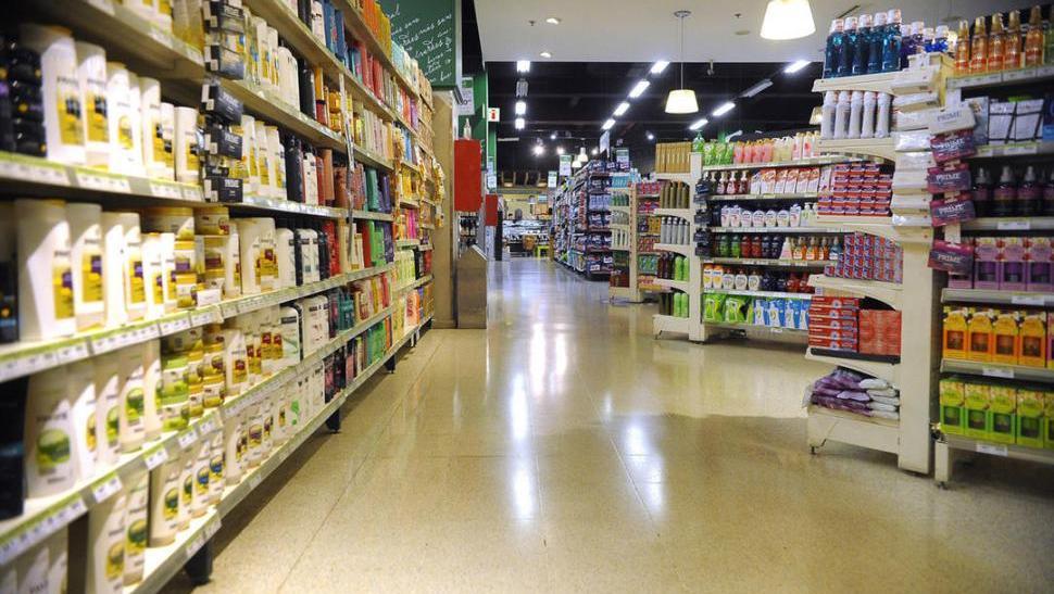 Uno de los ítems que presentó mejora fue el de ventas en supermercados.