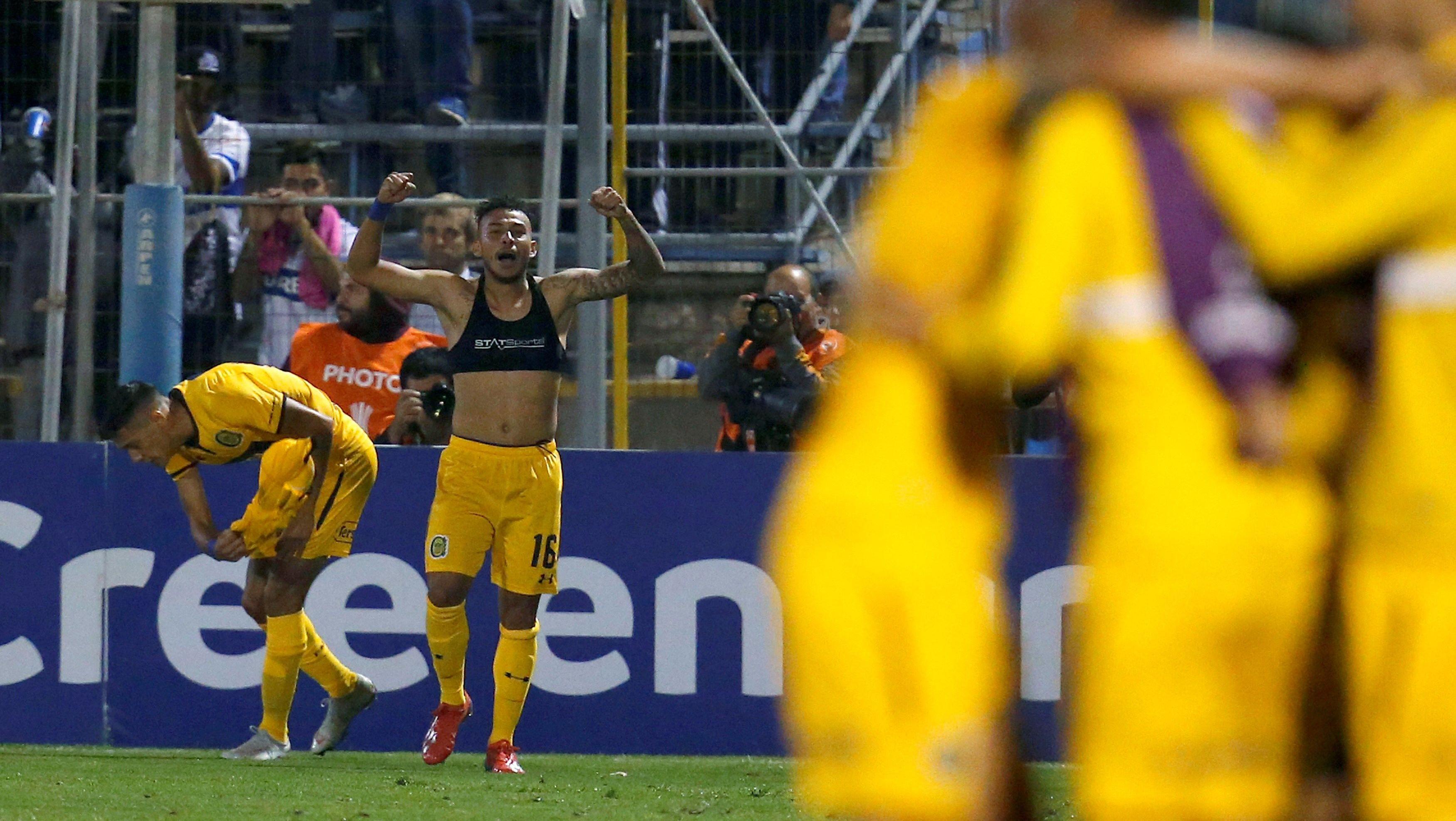 El empate de Vergara parecía sentenciar el partido (EFE)