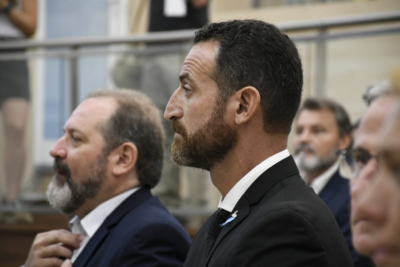 Cardozo y Sukermanen la apertura de sesiones ordinarias. (Foto: Rosario Plus).