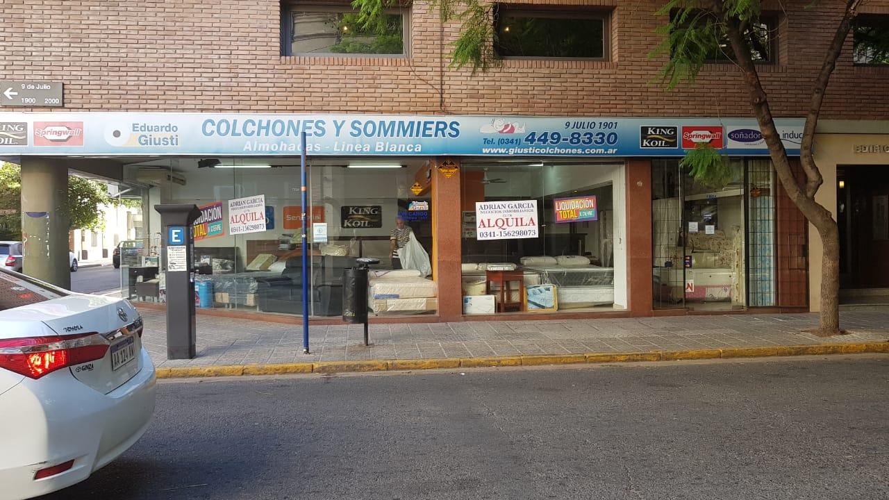El último local de Giusti en 9 de Julio esquina Dorrego cerró el 31 de enero.