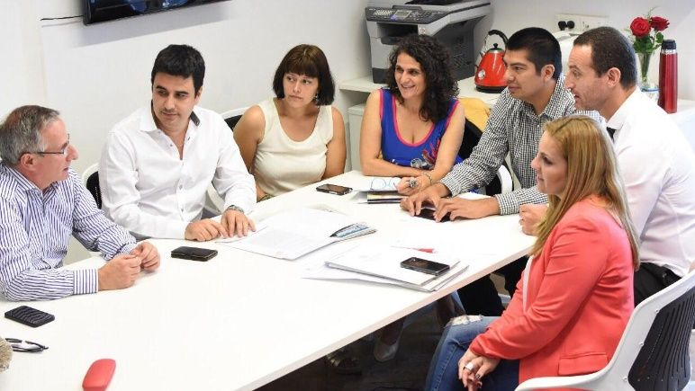 Bloque de ediles peronistasdel Concejo Municipal.