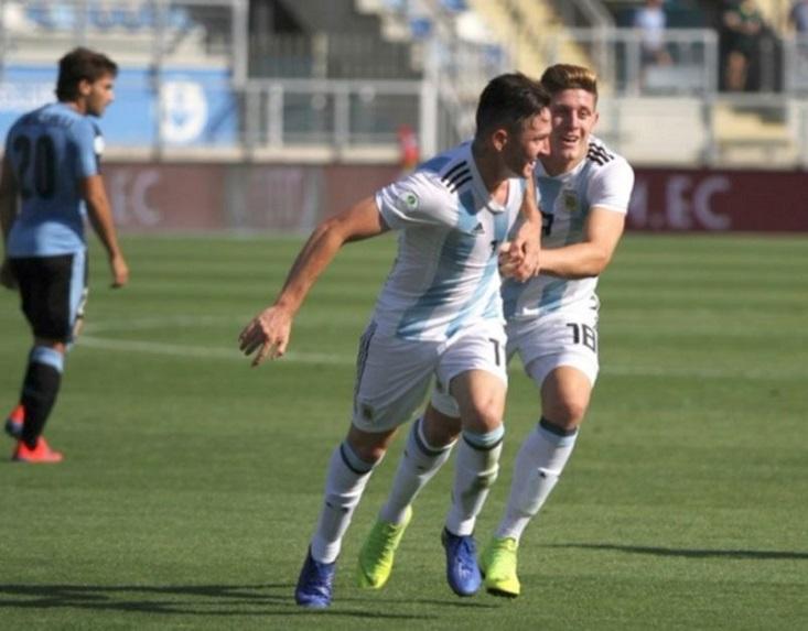 Aníbal Moreno fue una de las figuras del sub 20.