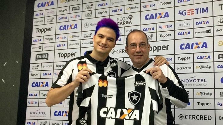 Felipe Neto, youtuber que rechazó una oferta del Botafogo.