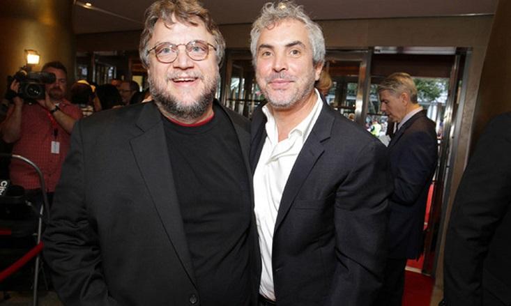 Guillermo del Toro y Alfonso Cuarón de los más enojados con la Academia.