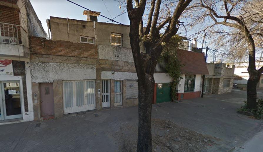 La vivienda sobre la cual se produjo el atentado.
