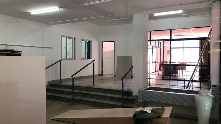 El Centro Territorial de Denuncias se encuentra en las ex oficinas de Aguas Santafesina.