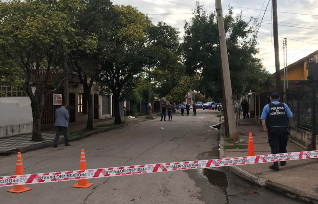 La escena del crimen, en el bucólico barrio Jardín, de Córdoba.