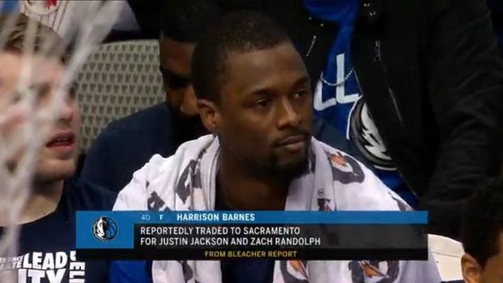 El momento en que la transmisión explica porque Barnes fue sustituido.