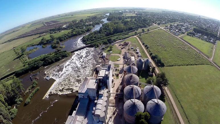 La represa del Molino Semino es eje de una polémica en torno al río.