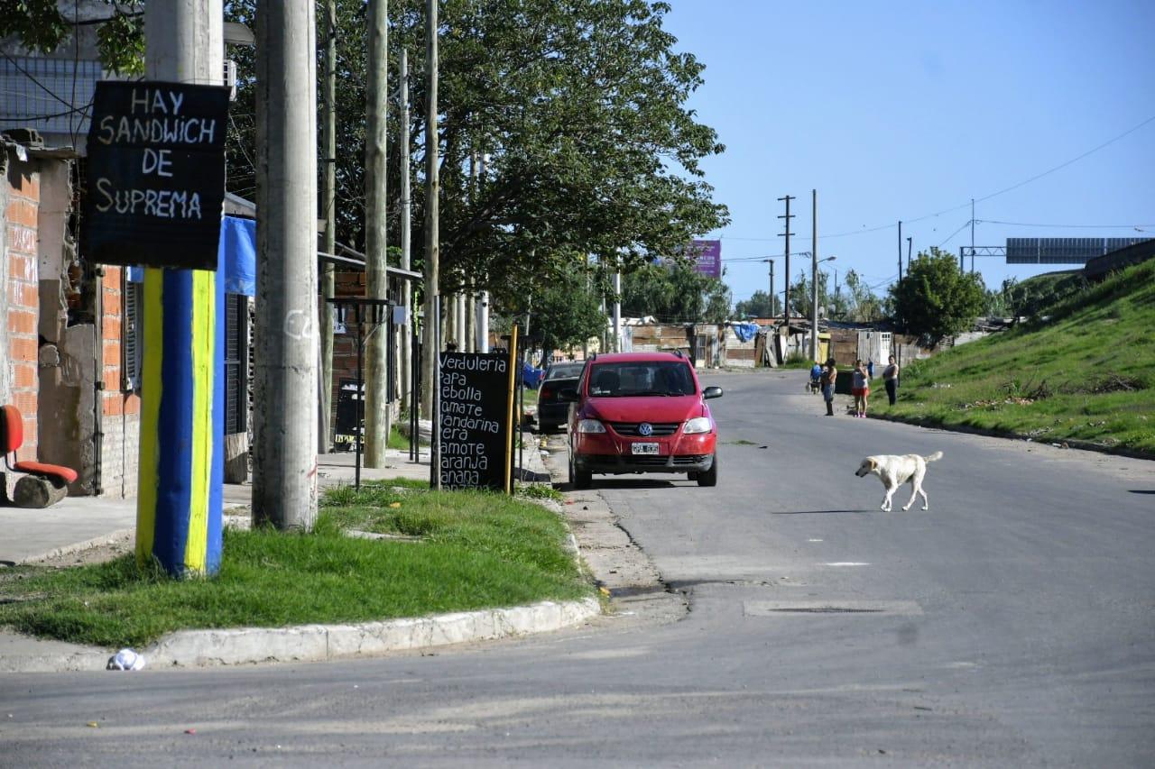 La calle donde ocurrió el asesinato.