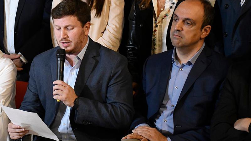 Angelini y Corral se disputan la candidatura a gobernador de Cambiemos.