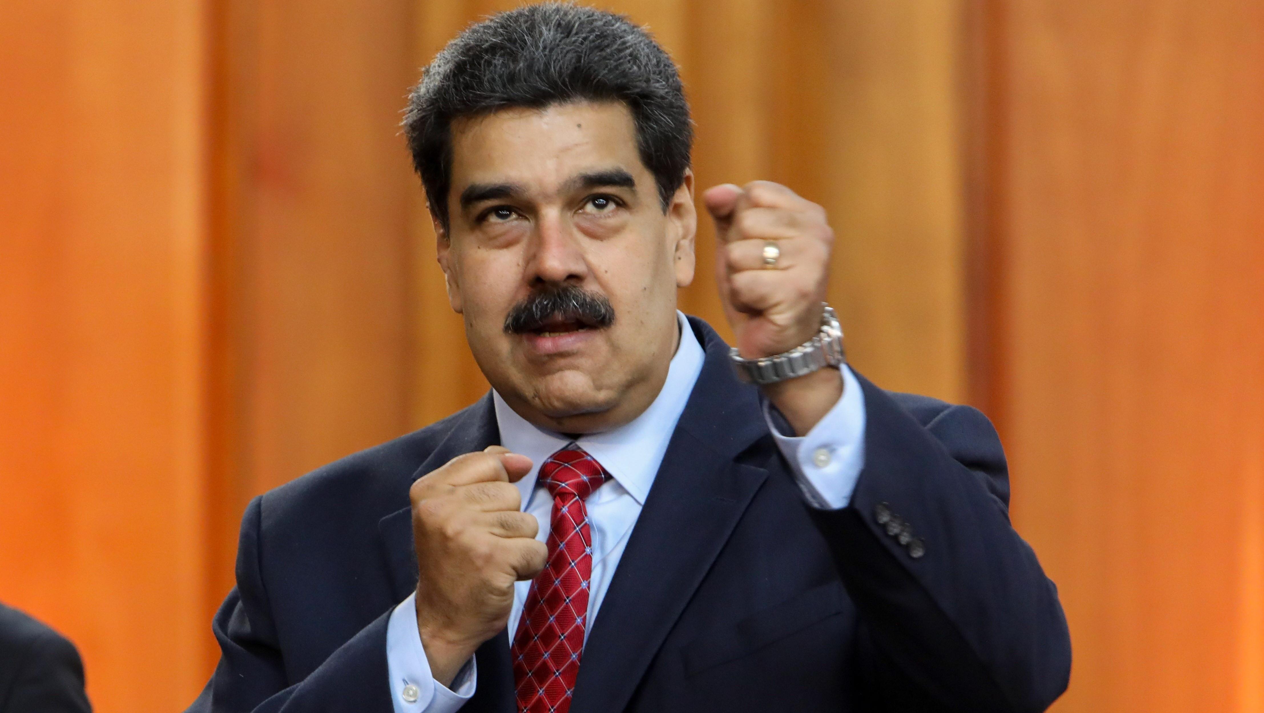 Nicolás Maduro, encerrado en su laberinto. (Foto EFE)