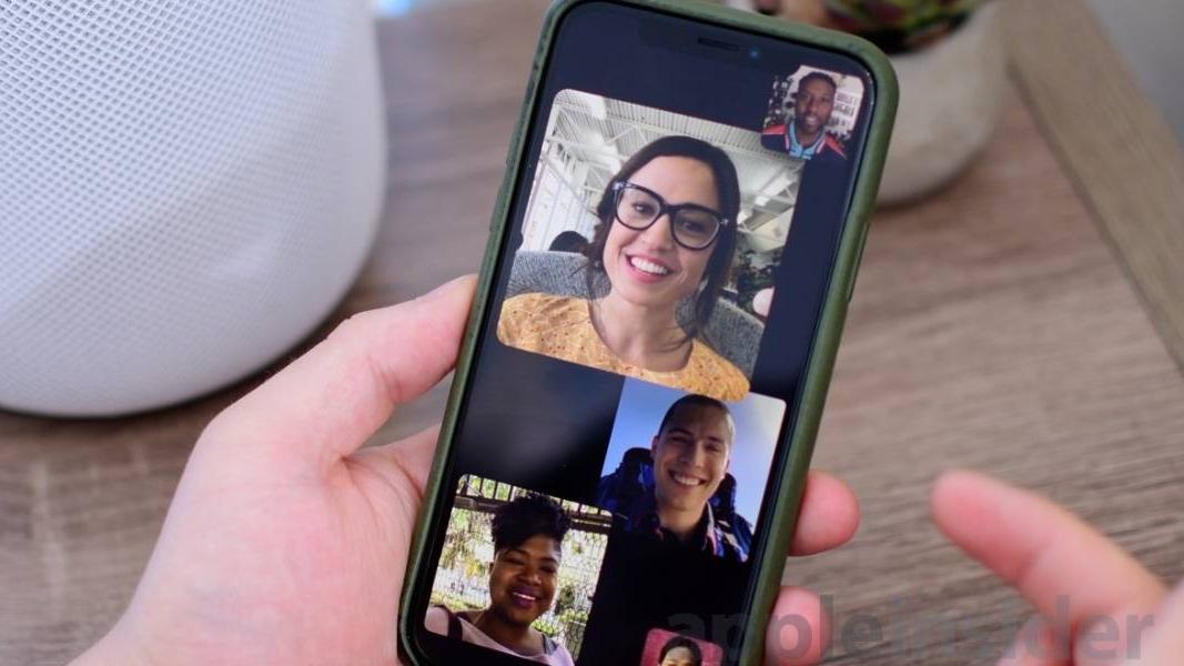 Imagen promocional de la aplicación de Apple, FaceTime.