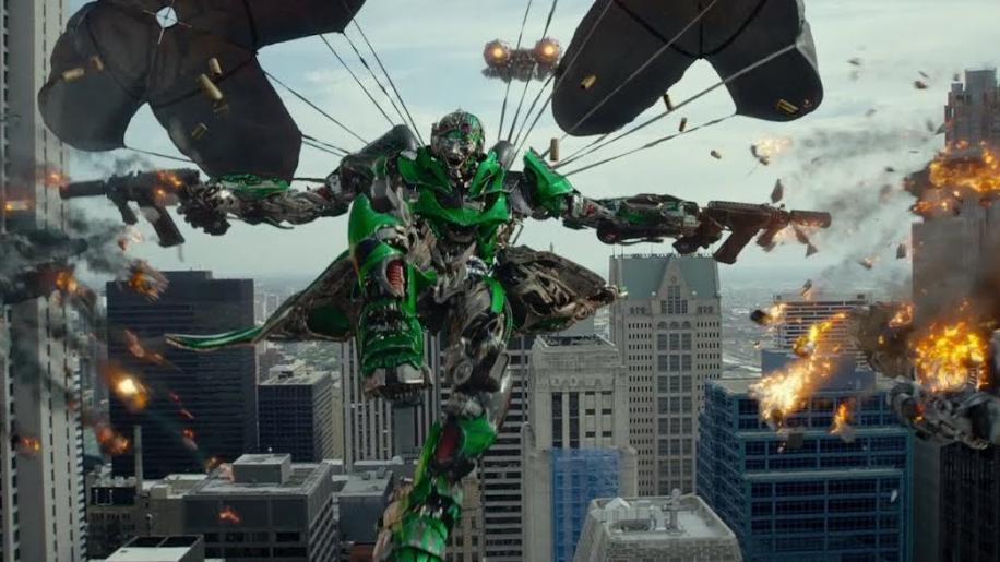 La cuarta de Transformers, un plato fuerte.