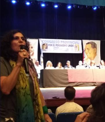 Norma López relacionó la paridad con la historia del PJ.