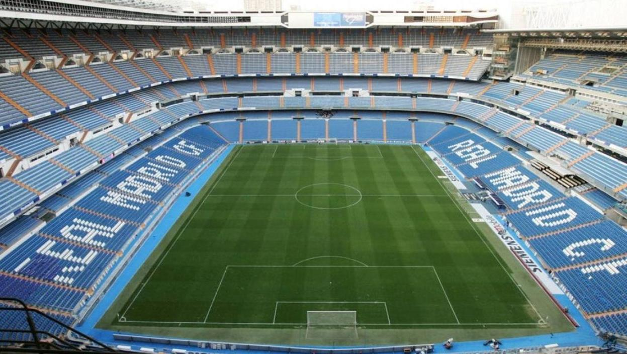 El estadio Santiago Bernabéu de Madrid (Foto: EFE)