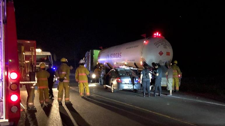 El siniestro se produjo cerca de las 21 del miércoles entre Casilda y Pujato.
