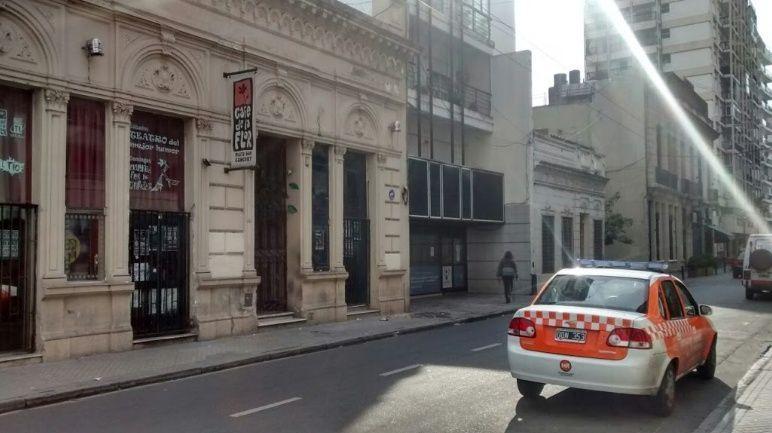 El local de Mendoza al 800 donde hace tres años ocurrió la trágica muerte de un músico.