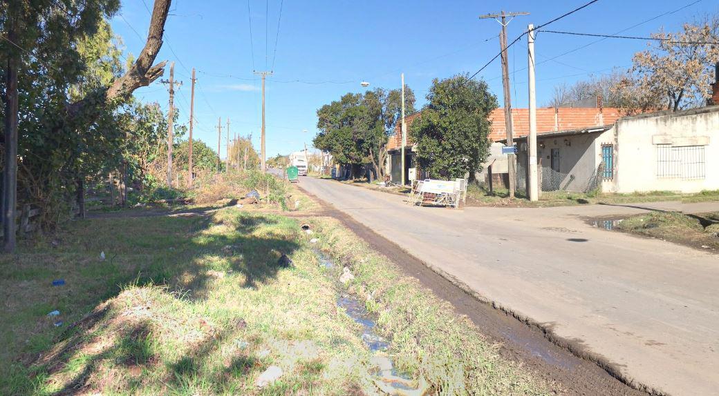 Calle Battle al 4200, donde la joven y su hija fueron atacadas desde un auto.