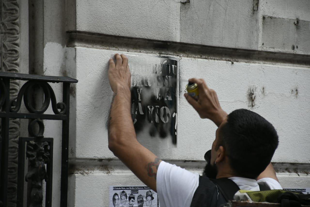 La marcha por los pibes, por primera vez en Rosario.