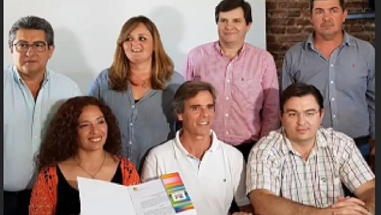 El acuerdo se firmó ayer en la localidad de San Jerónimo Sud.