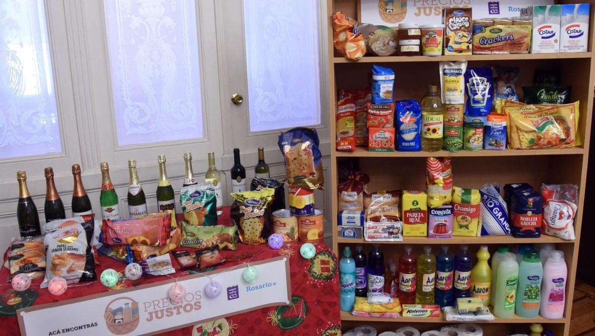 Precios Justos suma productos navideños (Foto de @munirosario)