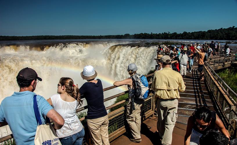 Cataratas en Iguazú, un destino siempre elegido