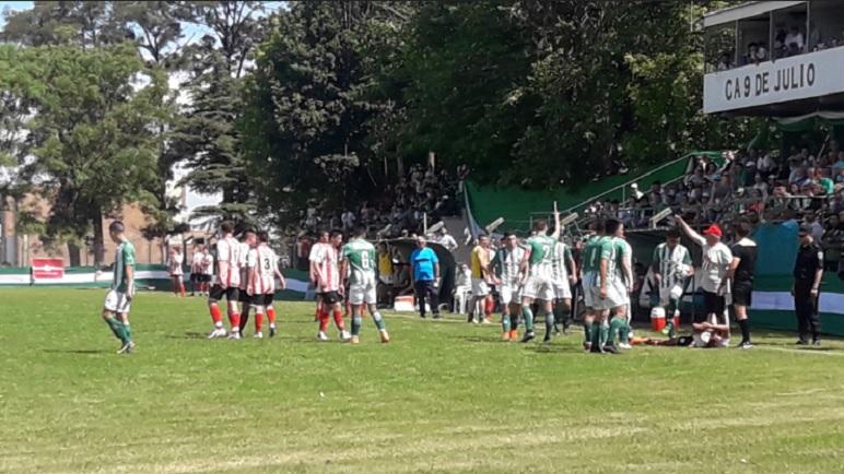 En la primera final, Pujato ganó en Arequito. La tercera será en Casilda.