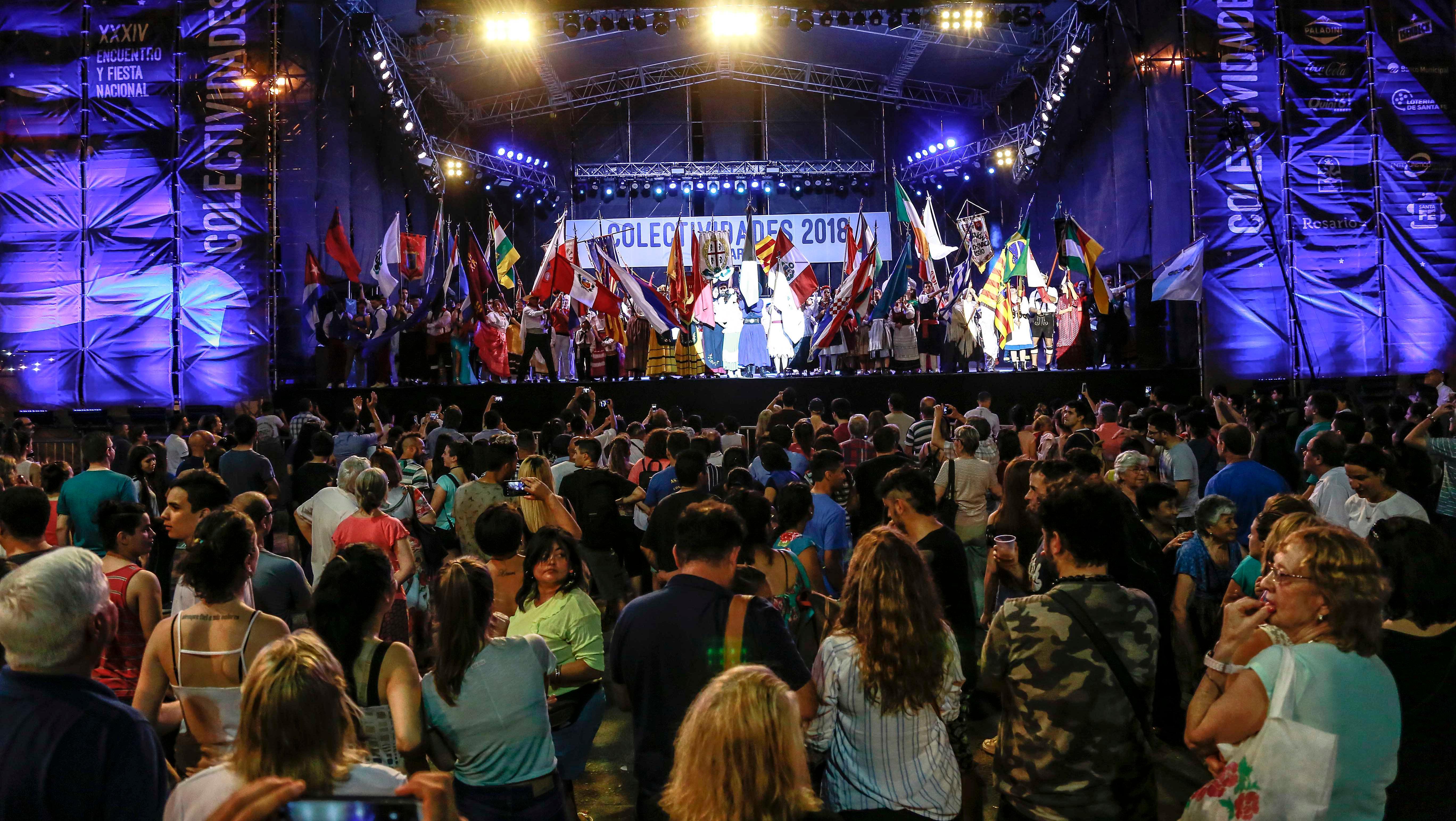 A pleno. Al fin las Colectividades podrán celebrar (Foto Municipalidad de Rosario)