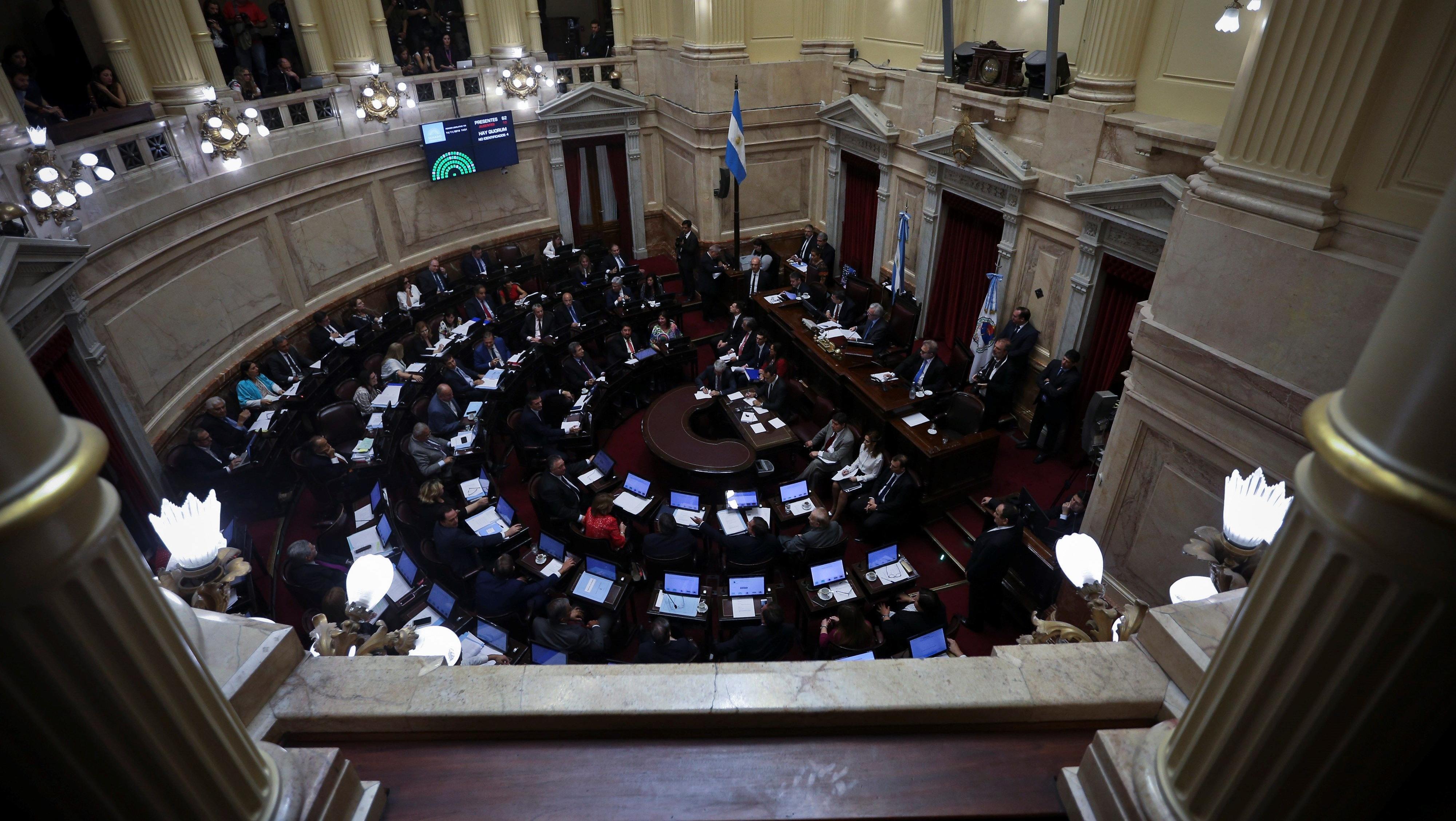 Senado argentino aprobó el Presupuesto (EFE/ J.I. Roncoroni)