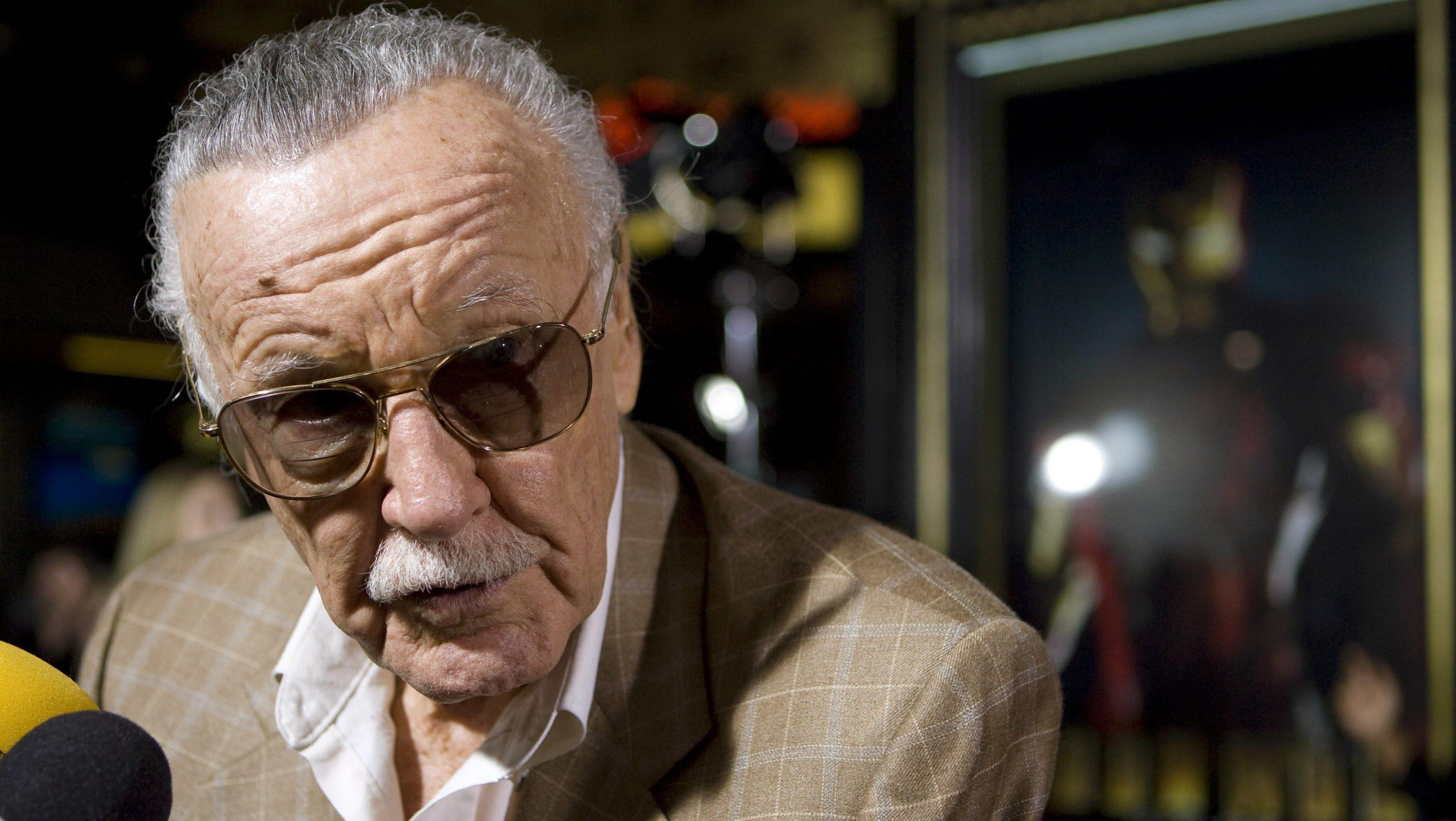 Stan Lee (Foto de EFE)