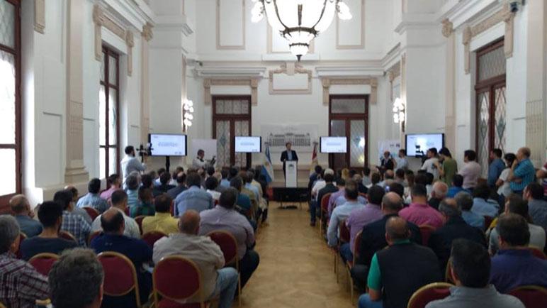 El programa fue presentado en sociedad en Sede de Gobernación.