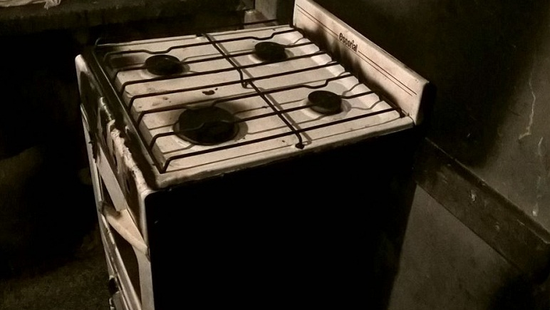 La cocina quedó muy dañada. (Imagen Ilustrativa).