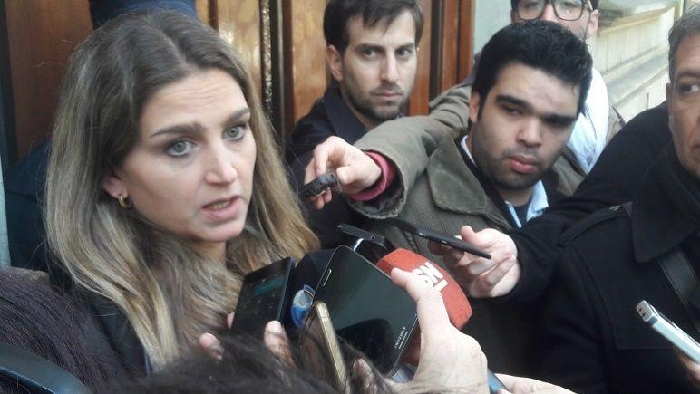 La fiscal Marisol Fabbro, a cargo de la acusación contra la mujer.