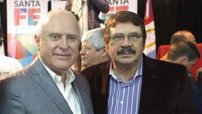 El Gobernador y el Senador. Lifschitz recibió a Rosconi y sus colegas.