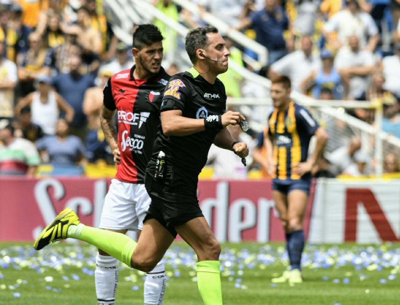 Rapalliniignoró un penal que G. Ortiz le cometió a Herrera.