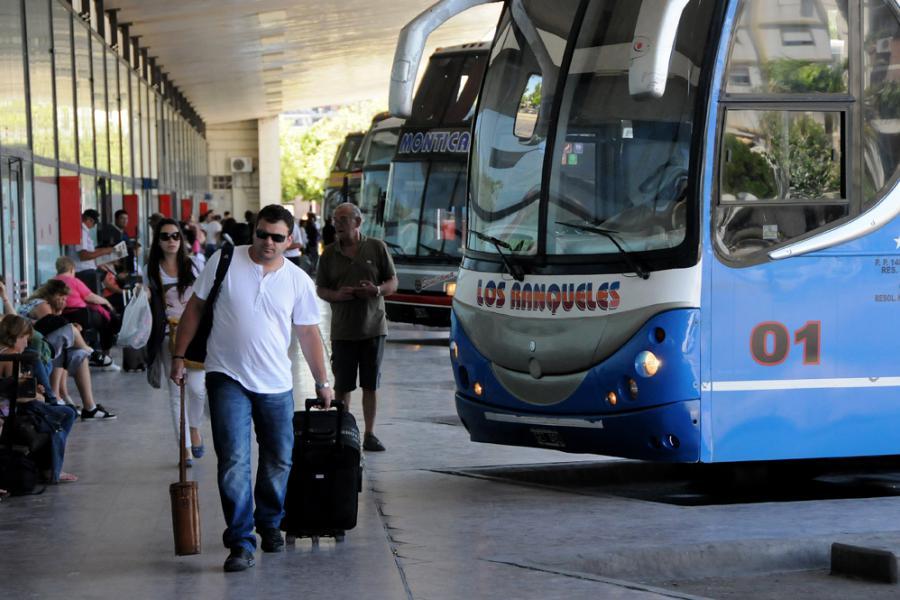 En la previa de las fiestas el transporte interurbano aumenta el 12 por ciento.