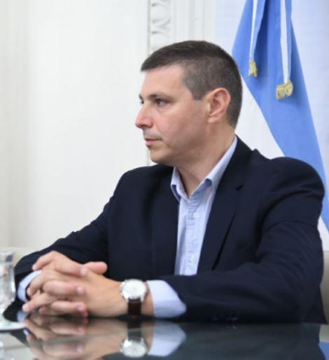 Gustavo Leone, secretario de Gobierno.