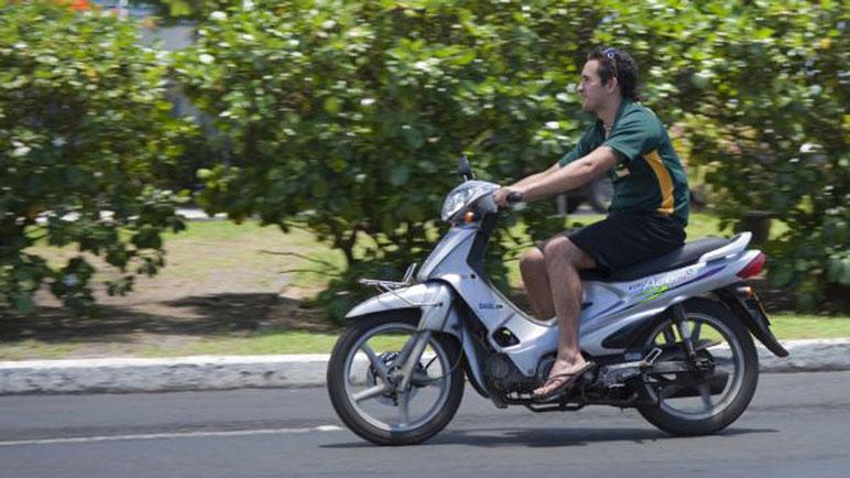 Los motociclistas de Arequito no suelen usar el casco. Imagen Ilustrativa.