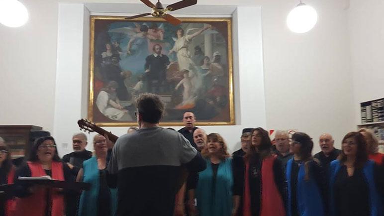 El Coro Voces Argentina fue parte de los festejos de la Biblio.