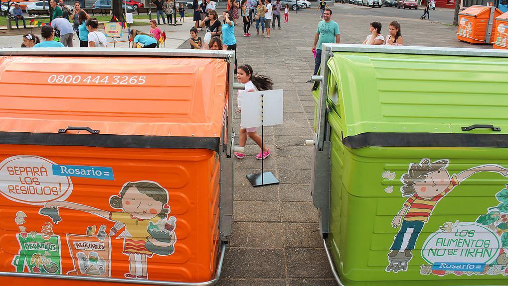 Sapem quiere sumar contenedores para que los casildenses arrojen la basura.