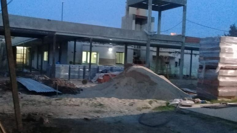 Las obras en el hospital San Carlos se realizan a buen ritmo.