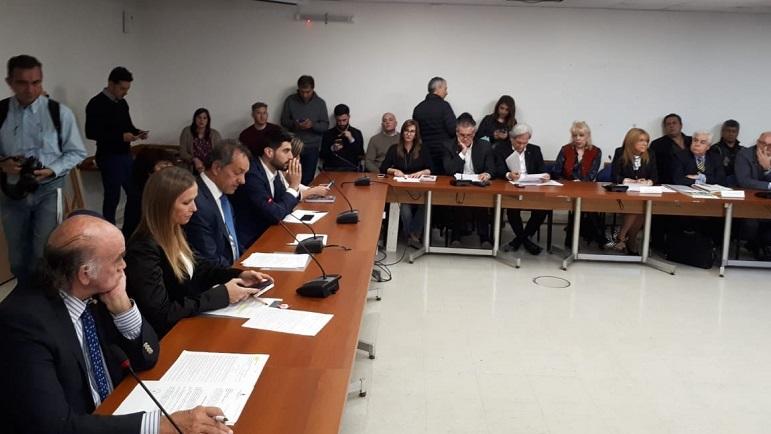 La comisión de deportes de la legislatura se reunión en torno a ley 27.211