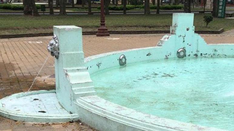 La Plaza de la Fuente fue motivo de comentarios este fin de semana.