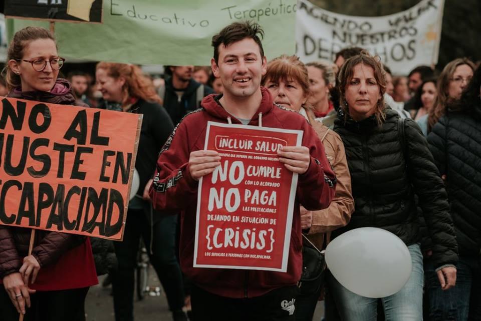 Movilización deAtraes en Rosario