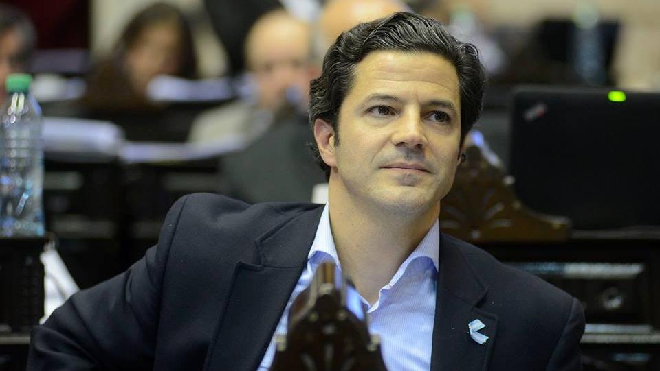 El diputado de Cambiemos por Santa Fe, Luciano Laspina