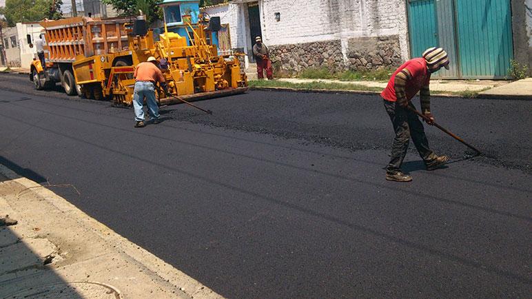 Se vienen nuevas calles de cemento para las localidades de Caseros.